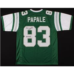 "Vince Papale Signed Jersey Inscribed ""Invincible"" (JSA COA)"