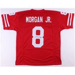 Stanley Morgan Jr. Signed Jersey (JSA COA)
