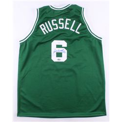 Bill Russell Signed Jersey (JSA COA  Hollywood Collectibles COA)