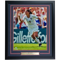 Mia Hamm Signed Team USA 22x27 Custom Framed Photo Display (Fanatics Hologram)