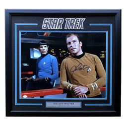 "William Shatner Signed ""Star Trek"" 22x29 Custom Framed Photo Display (JSA COA)"