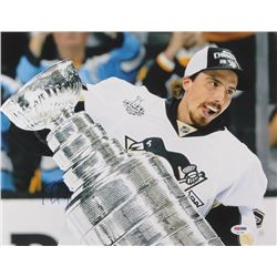 Marc Andre Fleury Signed Pittsburgh Penguins 11x14 Photo (PSA Hologram)