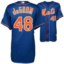 Jacob deGrom Signed New York Mets Jersey (MLB Hologram  Fanatics Hologram)