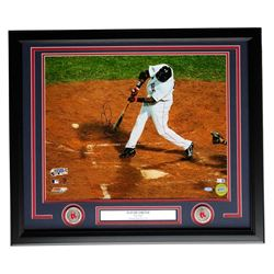 David Ortiz Signed Boston Red Sox 22x27 Custom Framed Photo Display (Steiner COA  MLB Hologram)