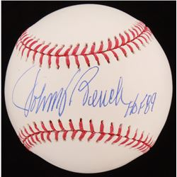 "Johnny Bench Signed OML Baseball Inscribed ""HOF 89"" (AIV COA)"
