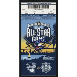 Nolan Arenado Signed 2016 MLB All-Star Game Ticket Stub (PSA Hologram)