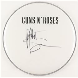 "Matt Sorum Signed Guns N' Roses 12.5"" Drum Head (JSA COA)"