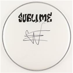 "Eric Wilson Signed Sublime 12.5"" Drum Head (JSA COA)"