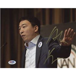 Andrew Yang Signed 8x10 Photo (PSA Hologram)