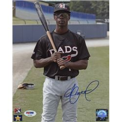 Andrew McCutchen Signed Hickory Crawdads 8x10 Photo (PSA Hologram)