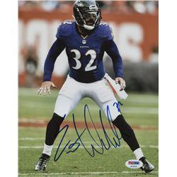 Eric Weddle Signed Baltimore Ravens 8x10 Photo (PSA Hologram)