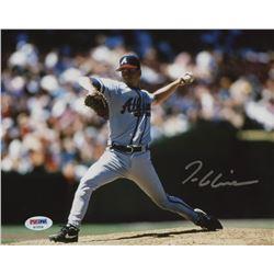 Tom Glavine Signed Atlanta Braves 8x10 Photo (PSA Hologram)