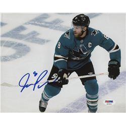 Joe Pavelski Signed San Jose Sharks 8x10 Photo (PSA Hologram)
