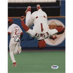 Ozzie Smith Signed St. Louis Cardinals 8x10 Photo (PSA Hologram)