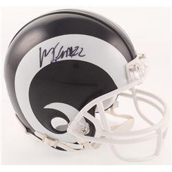 Marcus Peters Signed Los Angeles Rams Mini Helmet (PSA Hologram)