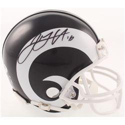 Jared Goff Signed Los Angeles Rams Mini Helmet (PSA Hologram)