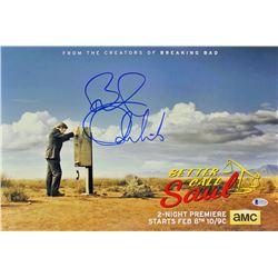"""Bob Odenkirk Signed """"Better Call Saul"""" 12x18 Photo (Beckett COA)"""