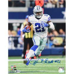 Ezekiel Elliott Signed Dallas Cowboys 11x14 Photo (Beckett LOA)