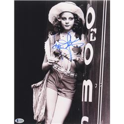 """Jodie Foster Signed """"Taxi Driver"""" 11x14 Photo (Beckett LOA)"""