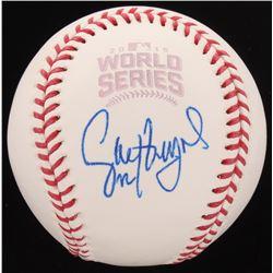 Jason Heyward Signed 2016 World Series Baseball (PSA Hologram)