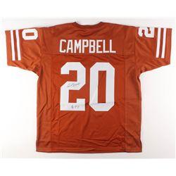 """Earl Campbell Signed Jersey Inscribed """"HT 77"""" (JSA Hologram)"""