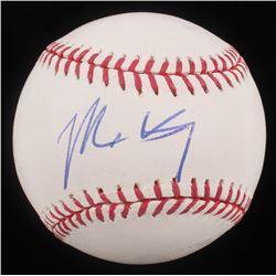 Matt Kemp Signed OML Baseball (PSA COA)