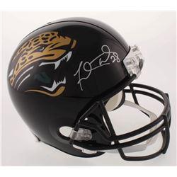 Fred Taylor Signed Jacksonville Jaguars Full-Size Helmet (Beckett COA)