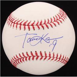 Masahiro Tanaka Signed OML Baseball (PSA Hologram)