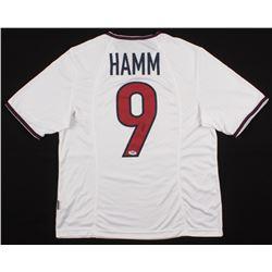 Mia Hamm Signed Team USA Jersey (PSA COA)