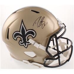 Drew Brees Signed New Orleans Saints Full-Size Speed Helmet (PSA COA)