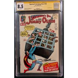 """Neal Adams Signed 1972 """"Superman's Pal, Jimmy Olsen"""" Issue #148 DC Comic Book (CGC Encapsulated - 8."""
