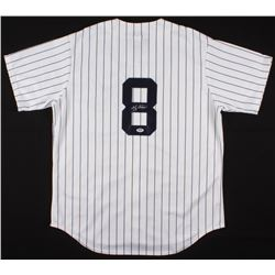 Yogi Berra Signed New York Yankees Majestic Jersey (PSA COA)
