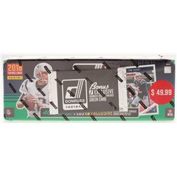 2018 Panini Donruss Football Card Complete Set of (400) Cards with (1) Exclusive Rookie Threads Gree