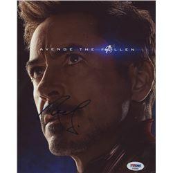 "Robert Downey Jr. Signed ""Avengers: End Game"" 8x10 Photo (PSA COA)"