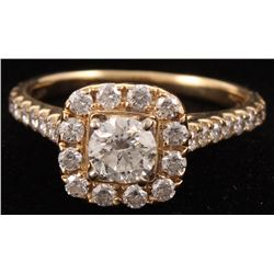 14Kt Yellow Gold Neil Lane Diamond Engagement Ring