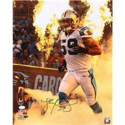 Luke Kuechly Signed Carolina Panthers 16x20 Photo (JSA COA)