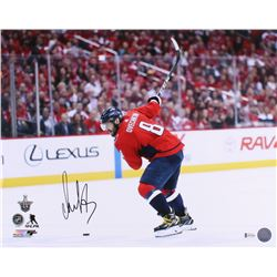 Alexander Ovechkin Signed Washington Capitals 16x20 Photo (Beckett COA)
