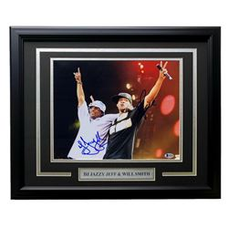 Will Smith  DJ Jazzy Jeff Signed 16x20 Custom Framed Photo Display (Beckett COA)