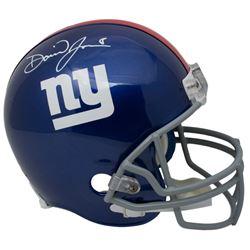 Daniel Jones Signed New York Giants Full-Size Helmet (Beckett COA)