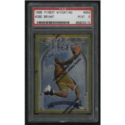 1996-97 Finest Gold #269 Kobe Bryant RC (PSA 9)