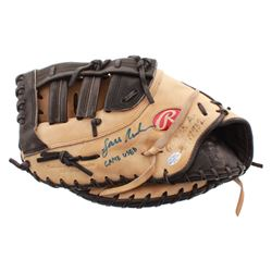 """Lars Anderson Signed Game-Used Rawlings Baseball First Baseman's Glove Inscribed """"Game Used"""" (YSMS C"""