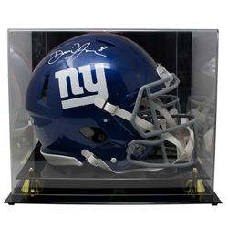 Daniel Jones Signed New York Giants Full-Size Authentic On-Field Speed Helmet with Acrylic Display C