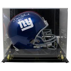 Daniel Jones Signed New York Giants Full-Size Helmet with Acrylic Display Case (Beckett COA)