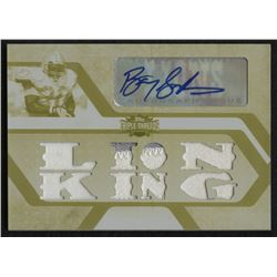 2008 Topps Triple Threads Autographed Relic Printing Plates Yellow #TTRA87 Barry Sanders #1/1