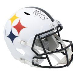 JuJu Smith-Schuster Signed Steelers Full-Size AMP Alternate Speed Helmet (JSA COA)