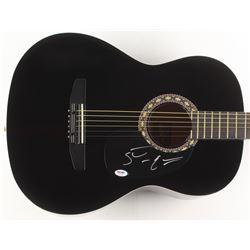 """Steve Earle Signed 38"""" Acoustic Guitar (PSA COA)"""