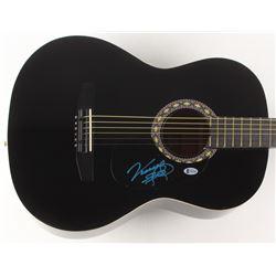 "Vince Gill Signed 38"" Acoustic Guitar (Beckett COA)"