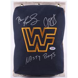 The Nasty Boys Signed WWF 80's Style Turnbuckle (PSA COA)