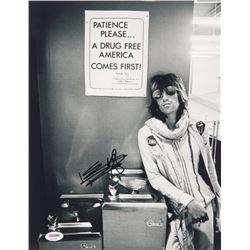 Keith Richards Signed 11x14 Photo (PSA LOA)