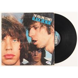 """Keith Richards Signed The Rolling Stones """"Black and Blue"""" Vinyl Record Album (PSA LOA)"""